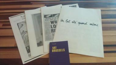 Art Brussels + Newspaper Art