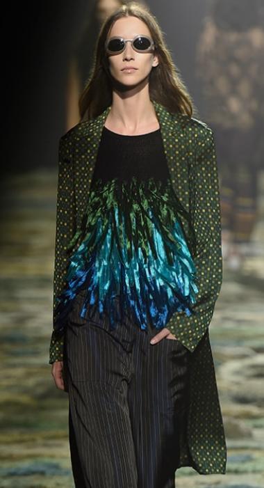Dries Van Noten SS 15 + Fashion Belgium + Antwerp fashion designer