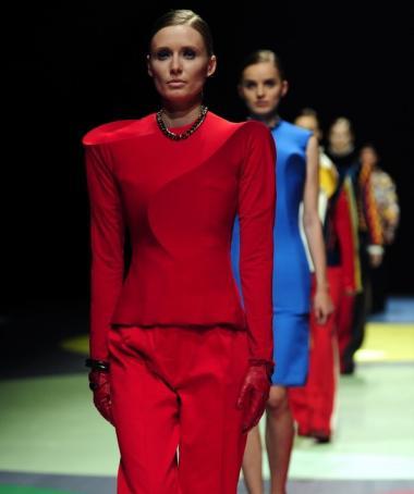 Fashion Academy Antwerp + show 14 + Emmanuel Beguinot