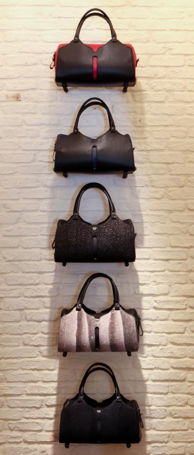 Alex Schrijvers + leather bags + Antwerp shopping tour + Belgian Fashion