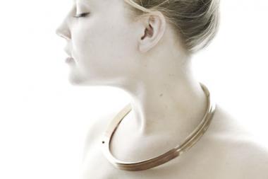 Beyond Fashion + Antwerp gallery + Kellie Riggs Bronze II Necklace