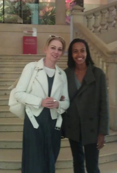 Leen Schodts + Lise Tranié + Fashion + Personal Shoppers in Paris museum