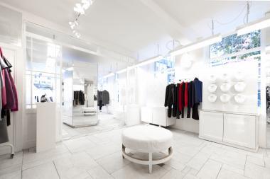 Maison Martin Margiela - inside shop - Brussels