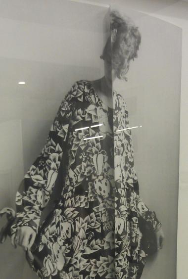 Art Brussels + folded fashion image